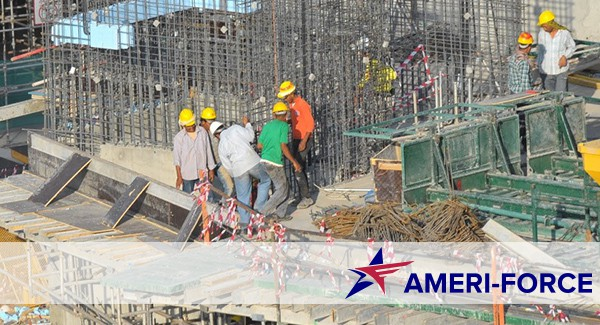 Heavy Construction Staffing by Ameri-Force